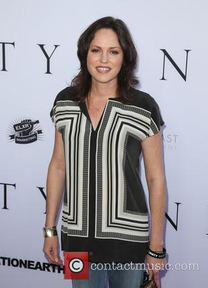 Jorja Fox - World Premiere of 'Unity' at DGA Theater - Arrivals at DGA Theater - Los Angeles, California, United...