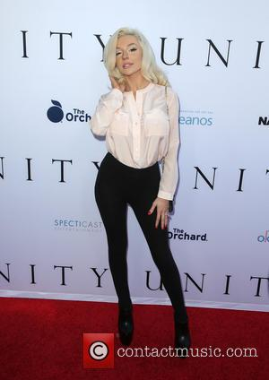 Courtney Stodden - World Premiere of 'Unity' at DGA Theater - Arrivals at DGA Theater - Los Angeles, California, United...