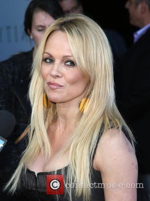 Pamela Anderson - World Premiere of 'Unity' at DGA Theater - Arrivals at DGA Theater - Los Angeles, California, United...