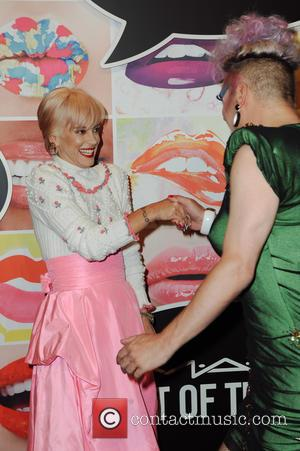 Lily Allen - MAC Cosmetic presents the Art of the Lip event at Haus der Kunst at Haus der Kunst...