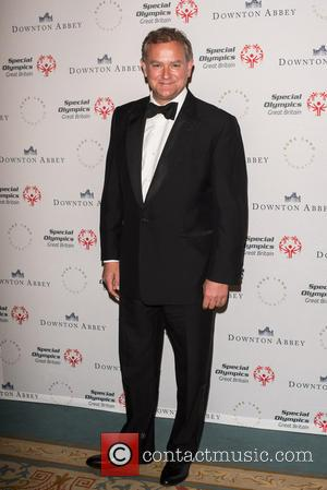 Hugh Bonneville - Downton Abbey gala dinner for Special Olympics GB held at the Landmark Hotel. - London, United Kingdom...