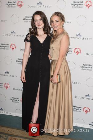 Sophie Mcshera and Joanne Froggatt