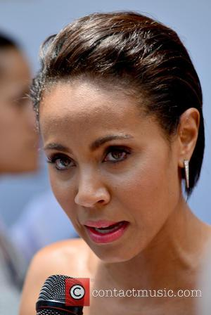 Jada Pinkett Smith - Magic Mike XXL cast honored with stars on the official Miami Walk Of Fame at Bayside...