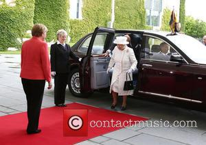 Peter Altmaier, Angela Merkel, Queen Elizabeth Ii and Prince Philip Duke Of Edinburgh