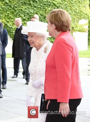 Queen Elizabeth Ii and Angela Merkel