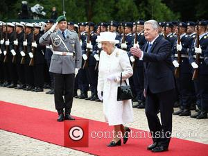 Queen Elizabeth Ii and President Joachim Gauck