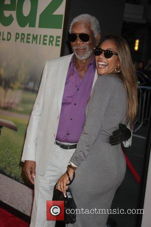 Morgan Freeman and grandaughter Alexis