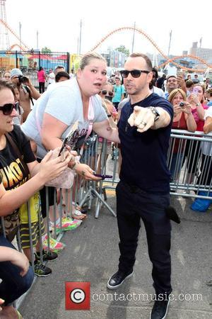 Danielle Valitutto and Donnie Wahlberg