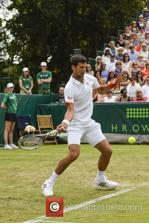 Novak Djokovic - Boodles Tennis 2015 at Stoke Park in  Buckinghamshire - Surrey, United Kingdom - Thursday 25th June...