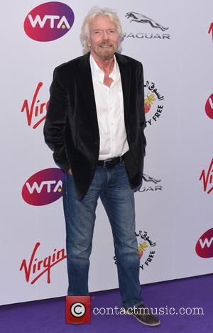 Richard Branson - WTA Pre-Wimbledon Party held at the Roof Gardens - Arrivals - London, United Kingdom - Thursday 25th...