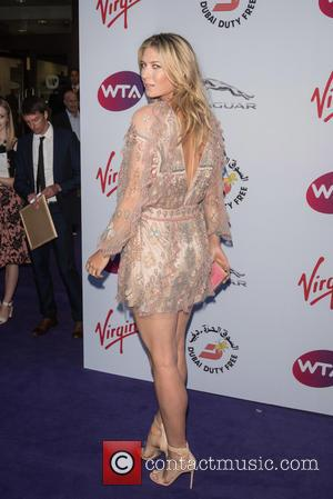 Maria Sharapova - WTA Pre-Wimbledon Party held at the Roof Gardens - Arrivals - London, United Kingdom - Thursday 25th...