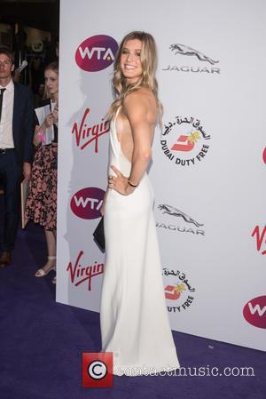 Eugenie Bouchard - WTA Pre-Wimbledon Party held at the Roof Gardens - Arrivals - London, United Kingdom - Thursday 25th...