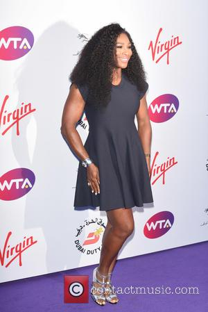 Serena Williams - WTA Pre-Wimbledon Party held at the Roof Gardens - Arrivals - London, United Kingdom - Thursday 25th...