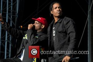 ASAP Rocky - Bråvalla Festival 2015 - Day 1 - Performances at Norrkoping - Norrköping, Sweden - Thursday 25th June...