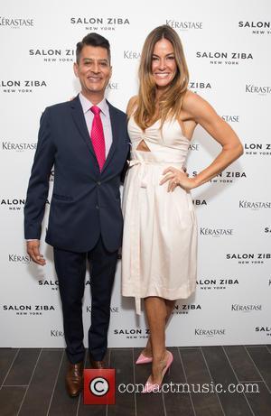 Alonso Salguero and Kelly Bensimon
