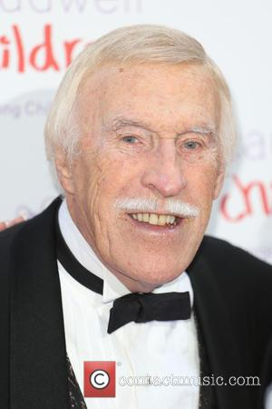 Bruce Forsyth - Caudwell Children's Butterfly Ball 2015 - Arrivals - London, United Kingdom - Thursday 25th June 2015