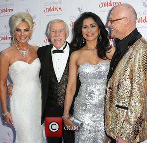 Claire Caudwell, Bruce Forsyth, Wilnelia Merced and John Caudwell