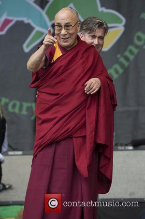Dalai Lama, Glastonbury Festival