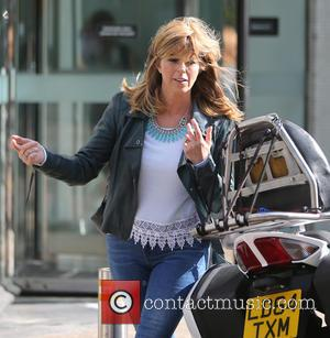 Kate Garraway - Kate Garraway outside ITV Studios - London, United Kingdom - Thursday 25th June 2015