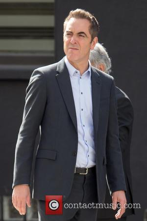 James Nesbitt - James Nesbitt and Sienna Guillory filming 'Lucky Man' in Hatton Garden at Hatton Garden - London, United...