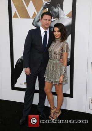 Channing Tatum and Jenna Dewan Tatum - Los Angeles World Premiere of Warner Bros. Pictures 'Magic Mike XXL' at TCL...