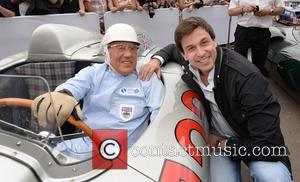 Toto and Sir Stirling Moss