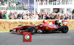 Kimi Raikkonen - Goodwood Festival of Speed - Day 2 - Chichester, West Sussex, United Kingdom - Friday 26th June...