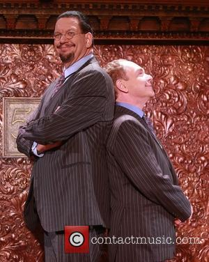 Penn Jillette and Teller - 'Penn & Teller On Broadway' Meet and Greet held at 54 Below nightclub at 54...
