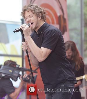 Imagine Dragons - TODAY summer concert series 2015 - Imagine Dragons at Rockefeller Plaza - New York City, New York,...