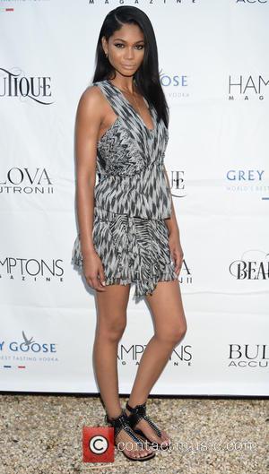 Chanel Iman - Victoria Secret and Sports Illustrated model Chanel Iman celebrates her Hamptons magazine cover at Beautique restaurant, Victoria...