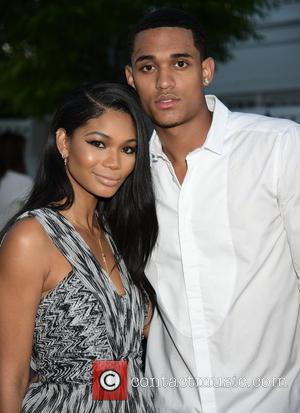 Chanel Iman and Jordan Clarkson - Victoria Secret and Sports Illustrated model Chanel Iman celebrates her Hamptons magazine cover at...