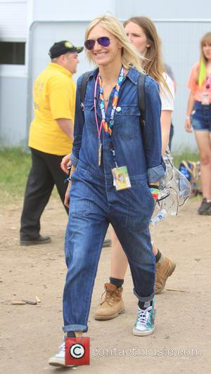 Jo Whiley - Glastonbury Festival 2015 - Day 3 - Celebrity Sightings at Glastonbury Festival - Somerset, United Kingdom -...