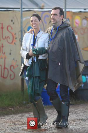 Glastonbury Festival 2015 - Day 3 - Celebrity Sightings at Glastonbury Festival - Somerset, United Kingdom - Friday 26th June...