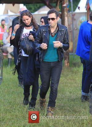 Jamie Hince - Glastonbury Festival 2015 - Day 3 - Celebrity Sightings at Glastonbury Festival - Somerset, United Kingdom -...