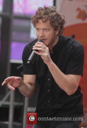 Imagine Dragons and Dan Reynolds - Imagine Dragons perform live at NBC's 'Today Show' at Rockefeller Plaza at The Today...