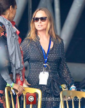 Stella McCartney - Glastonbury Festival 2015 - Day 4 - Celebrity Sightings at Glastonbury Festival - Glastonbury, United Kingdom -...