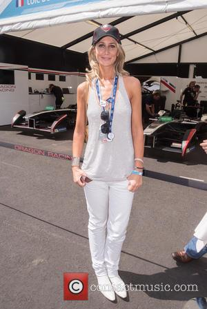 Lady Victoria Hervey - FIA Formula E London ePrix held at Battersea Park - London, United Kingdom - Saturday 27th...