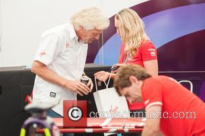 Sir Richard Branson - FIA Formula E London ePrix held at Battersea Park - London, United Kingdom - Saturday 27th...