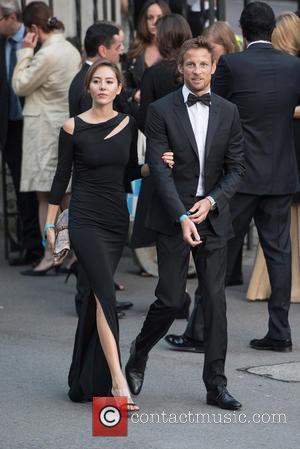 Jenson Button and Jessica Button