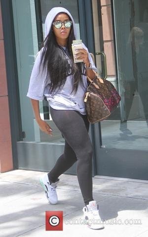Angela Simmons - Angela Simmons visits a gym in Beverly Hills - Los Angeles, California, United States - Saturday 27th...
