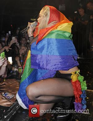 Rita Ora - Rita Ora performs live at G-A-Y on the day of London Pride to promote her new single...