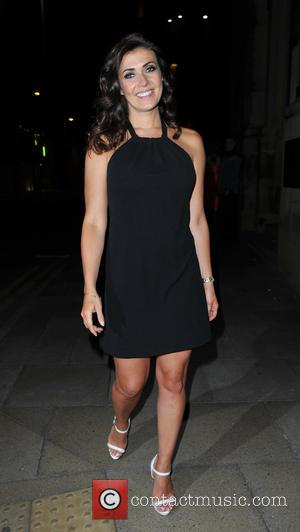 Kym Marsh - Coronation Streets Kym Marsh and Antony Cotton visits Rosso restaurant in Manchester at Rosso Restaurant - Manchester,...
