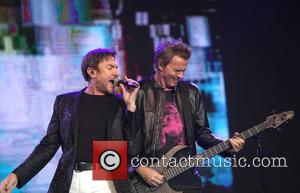 Simon Le Bon, John Taylor and Duran Duran - Night at the park held at Hague Zuiderpark at Hague Zuiderpark,...