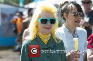 Pam Hogg - Glastonbury Festival 2015 - Day 4 - Celebrity Sightings at Glastonbury Festival - London, United Kingdom -...