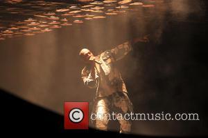 Kanye West - Glastonbury Festival 2015 - Day 4 - Performances - Kanye West at Glastonbury Festival - Glastonbury, United...