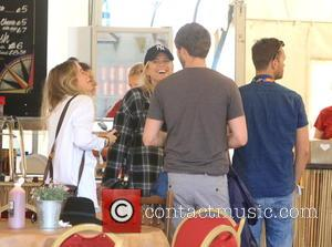 Cressida Bonas - Glastonbury Festival 2015 - Day 4 - Celebrity Sightings at Glastonbury Festival - Somerset, United Kingdom -...