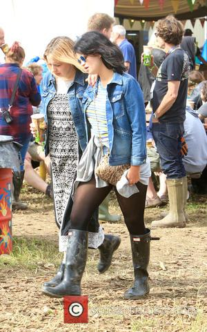 Pixie Geldof - Glastonbury Festival 2015 - Day 5 - Celebrity Sightings at Glastonbury Festival - Somerset, United Kingdom -...