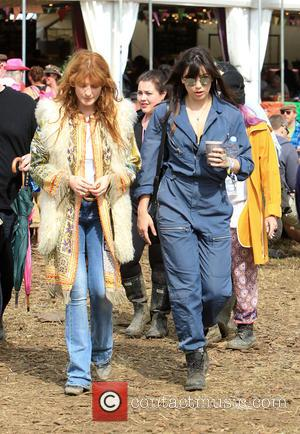 Florence Welsh and Daisy Lowe