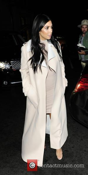 Kim Kardashian - Kim Kardashian and Kanye West leaving Hakkasan restaurant - London, United Kingdom - Sunday 28th June 2015