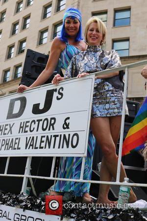 Countess Luann de Lesseps and Dorinda Medley - New York City Pride 2015 Parade - New York, New York, United...